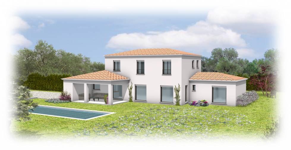 projet de villa provencale chateauneuf de grasse 06 bureau d 39 tude du b timent nice. Black Bedroom Furniture Sets. Home Design Ideas