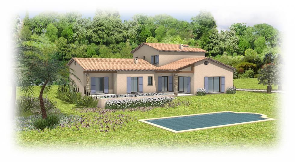 projet de villa provencale pegomas 06 bureau d 39 tude du b timent nice. Black Bedroom Furniture Sets. Home Design Ideas