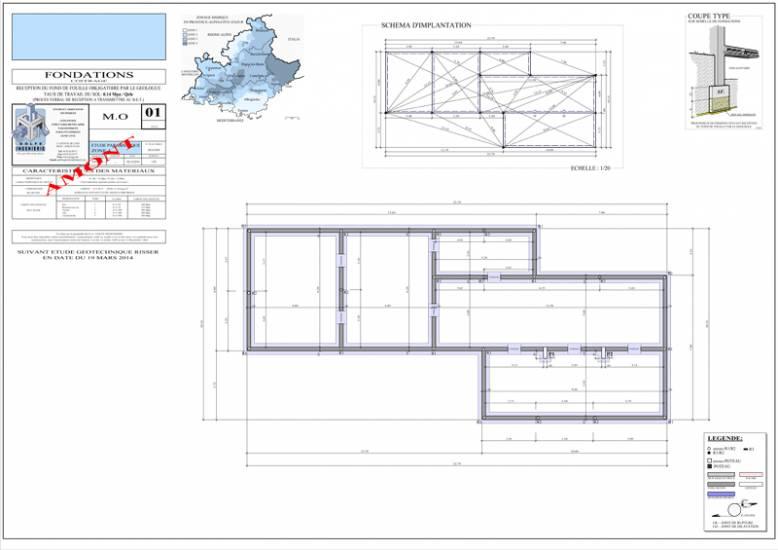 projet d 39 une villa contemporaine vence 06 bureau d 39 tude para sismique lyon. Black Bedroom Furniture Sets. Home Design Ideas